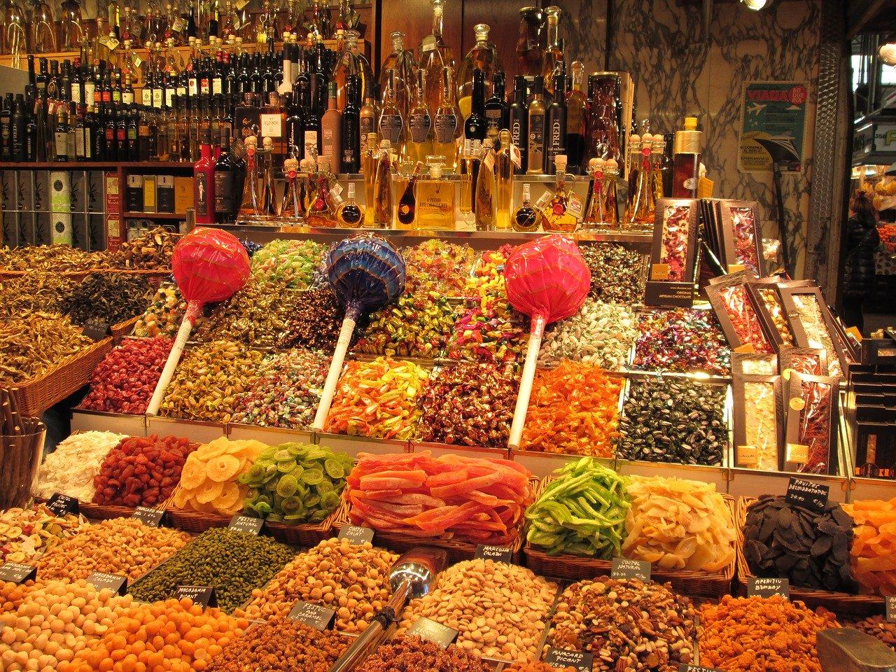 Barcelone boqueria
